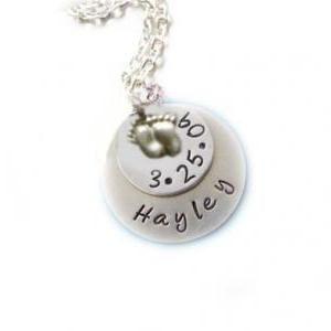 Mother Baby Necklace Sterling Silve..